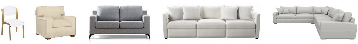 Cleaning and sanitizing of chairs and sofas